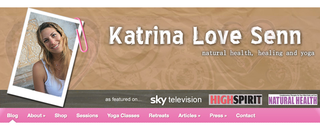 Join us, as Yoga teacher, healer and author, Katrina Love Senn, leads a Yoga Retreat in the beautiful Sabine Hills, 1 hour North of Rome, in Italy from 24th - 30th May 2012.