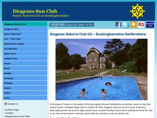 One of the UK's premier family friendly naturist clubs, located near to junction 17 of the M25 near Chalfont St.Peter.