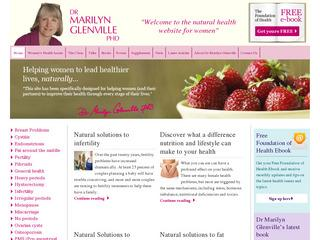 The Dr Marilyn Glenville Clinics are here to get you back into good health and a nutritional consultation involves building a detailed picture of your lifestyle, eating habits, medical history and any concerns you may have about your health.