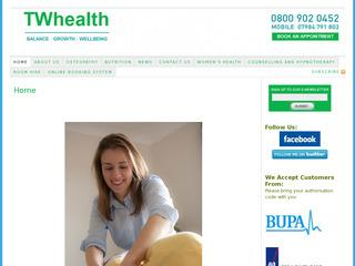 Experienced Osteopaths with a gentle approach. Structural and Cranial techniques for adults and children of all ages. Early and Late appointments. Free Parking.  Health insurers and card payment welcome.